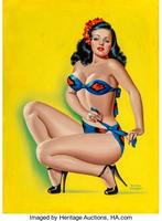 Pin-Up in a Bikini, Beauty Parade magazine cover