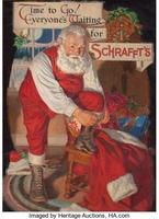 Time to Go!, Everyone's Waiting for Schrafft's, Schrafft's Chocolate advertisement